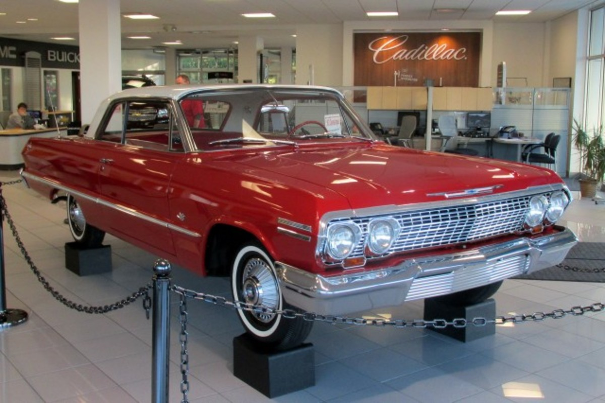 After Leidich's Impala was cleaned up, he displayed at a GM dealership in Janesville, Wisconsin, the city in which the car was built.