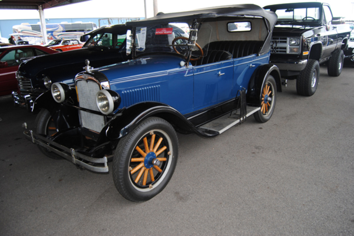 We felt the $6,500 winning bid for the 1927 Chevrolet Capitol AA Touring car was a bargain at Auction America's Fall Auburn sale.