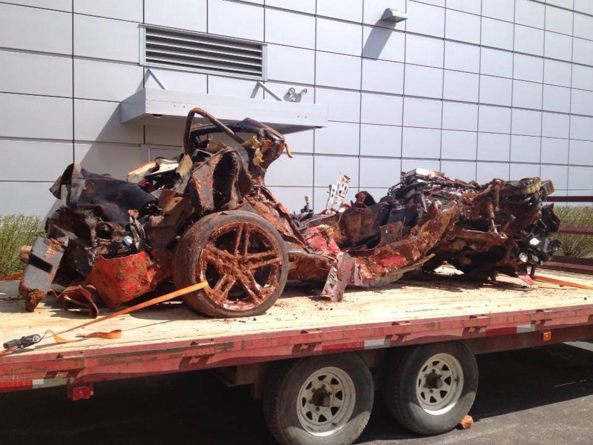 Recovered 2001 Mallett Hammer Z06 ends quest to save museum Corvettes.