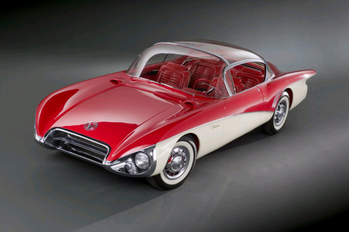 1956 Buick Centurion. Collection of Sloan*Longway, Flint, Mich. (Photo courtesy of General Motors)
