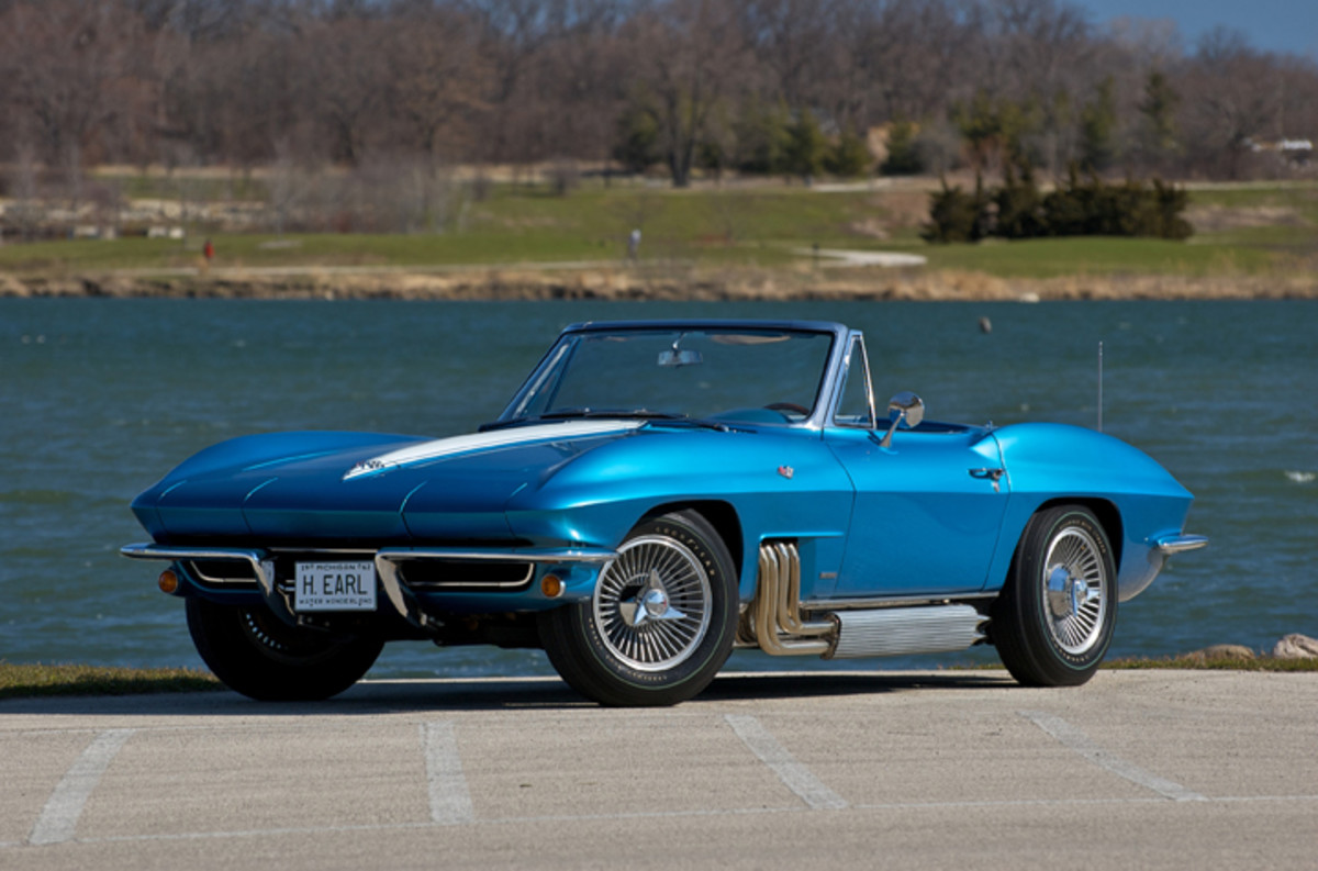 The 1963 Harley Earl Corvette will be one of the historically-significant concept cars on exhibit at Heritage Museums & Gardens in Sandwich, Mass. (Photo courtesy of Dana and Patti Mecum)