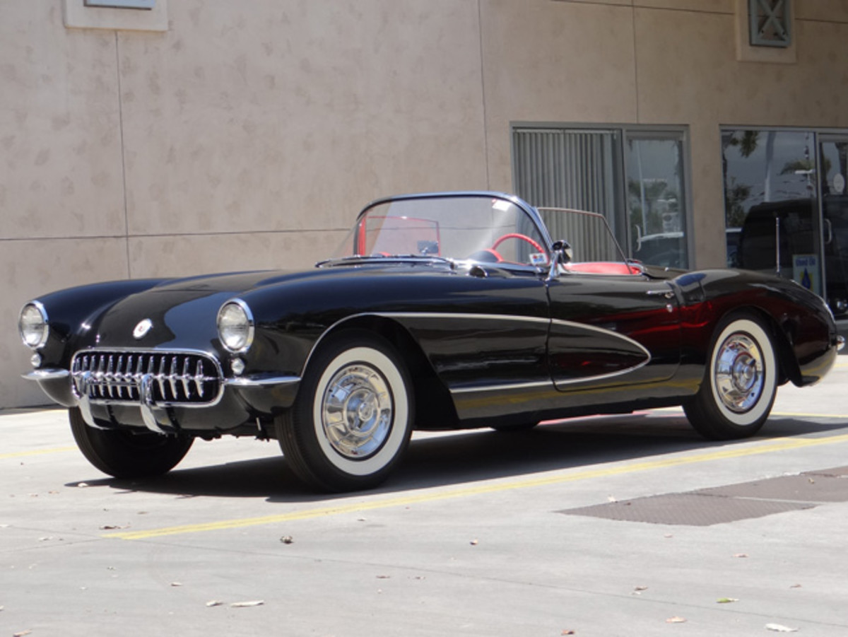 Cars like this 1956 Chevrolet Corvette captured the imagination and dreams of enthusiasts for decades… and it still does. Many mid-century cars and trucks will be among the nearly 600 vehicles at McCormick's Palm Springs Collector Car Auction on Feb. 22-24. Photo - McCormick