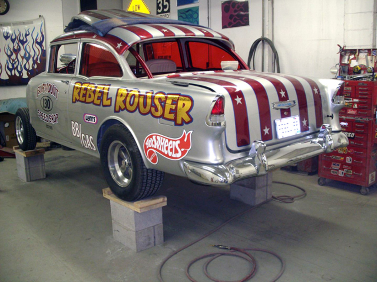 The Rebel Rouser '55 is sure to rouse some passions when finished.
