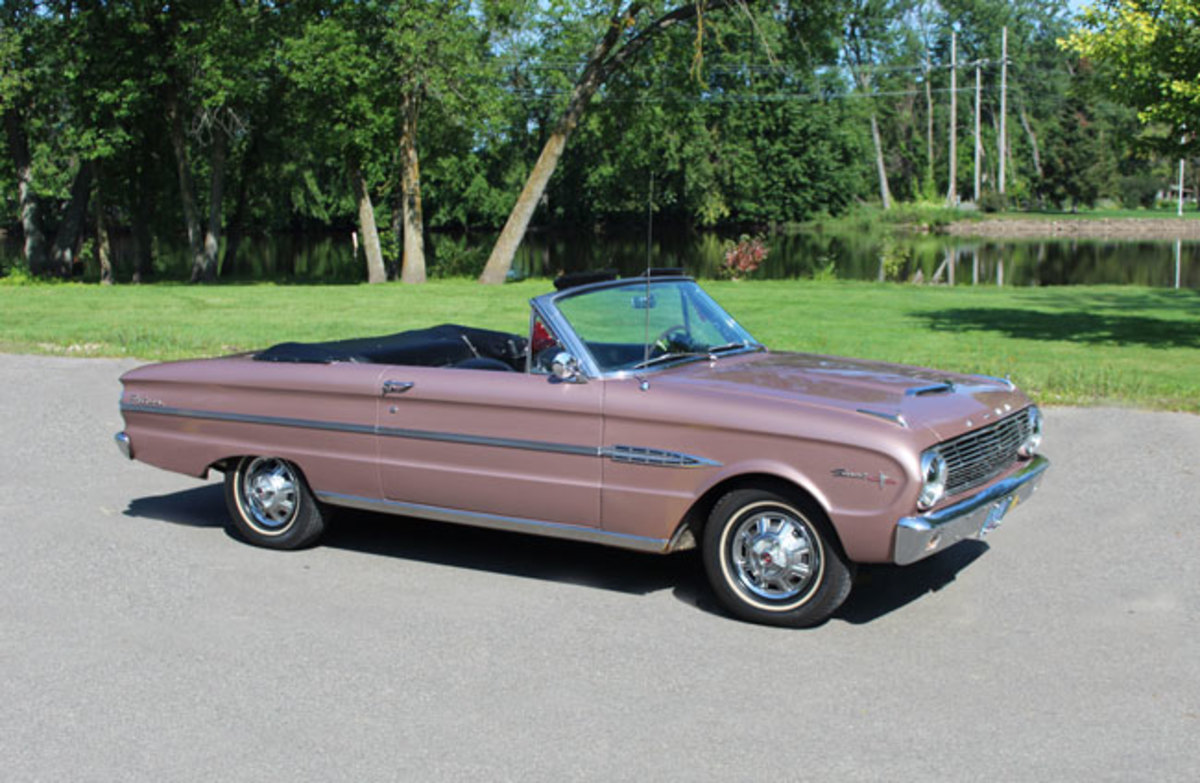 1963 Ford Falcon Sprint Convertible Old Cars Weekly