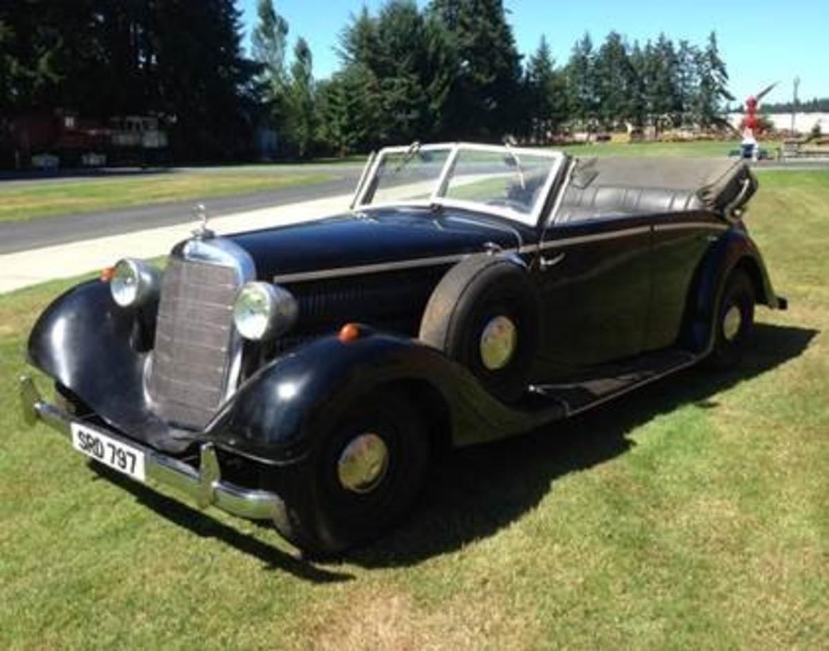 "Lot 662: 1937 ""Indiana Jones"" MB 300 Staff Car (Ex Paramount Studios)"