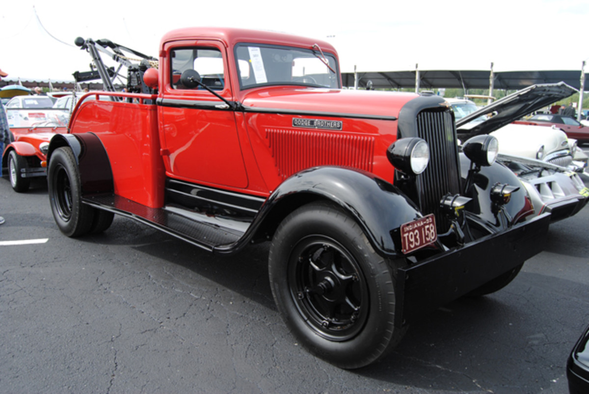 Beautifully restored and detailed, this 1933 Dodge H44 wrecker with a Weaver crane was a hit during Auctions America's Fall Auburn sale, going to a new home for a bid of $50,000