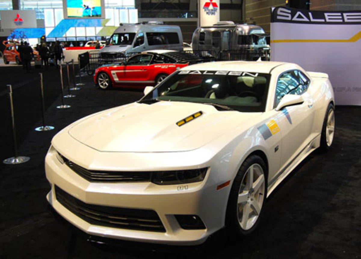 Saleen is pushing a lifestyle theme so the cars were very softly promoted but I believe this is a Tribute car. I know it has 620 hp.
