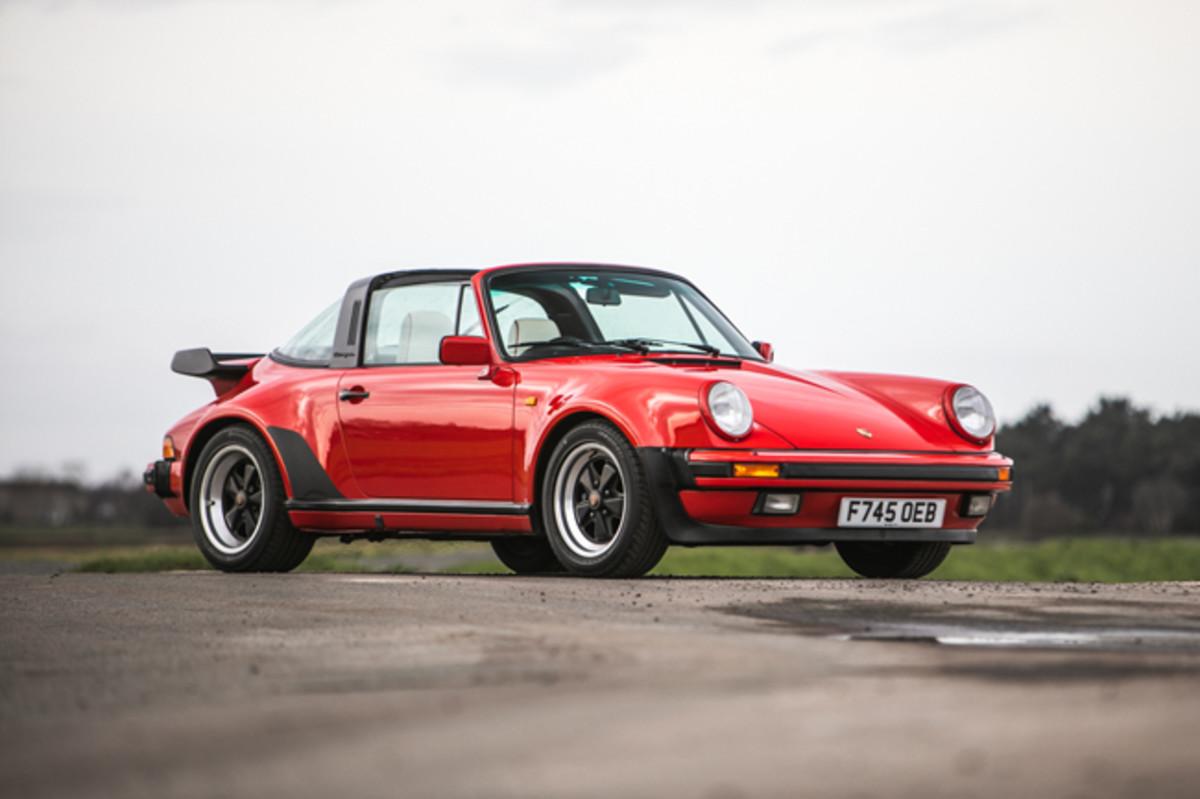 1988 Porsche 911(930) Turbo Targa G50. Photo - Silverstone Auctions