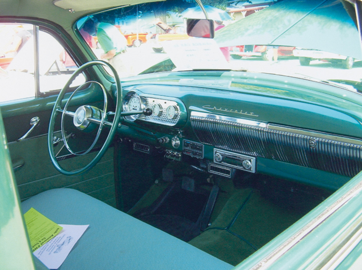 With a freshened interior the three-on-the-tree shifter still proudly remains.