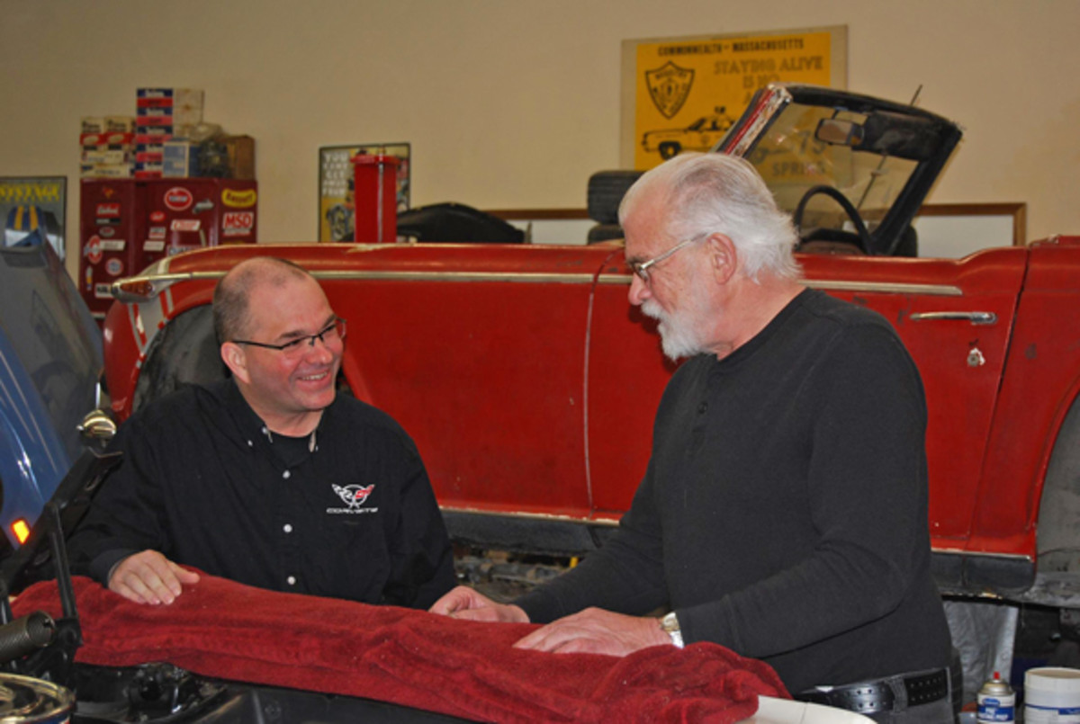 Rick Paulick (left) visited Gunner's Great Garage to tell us about his new show.