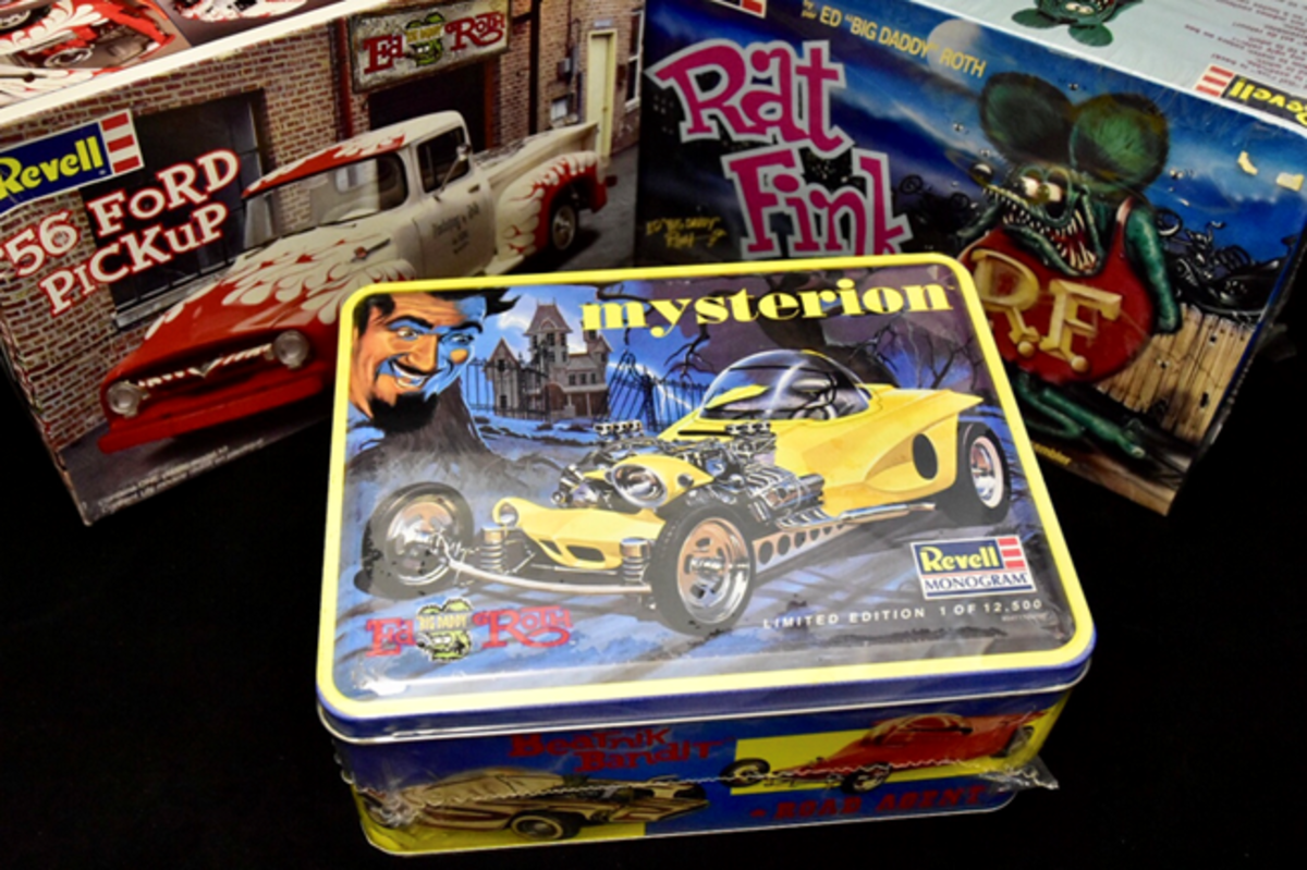 Lunchbox and Models by Revell