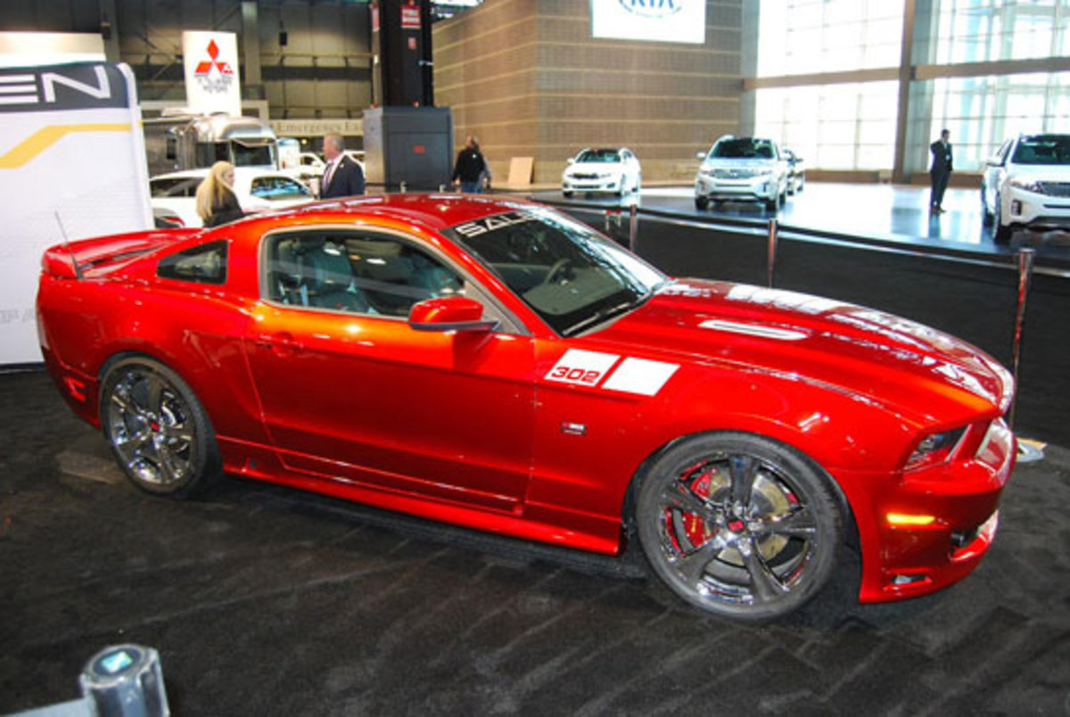 I don't think this Saleen Mustang was a Tribute car, it just had the coolest looking paint job you ever saw in your life.