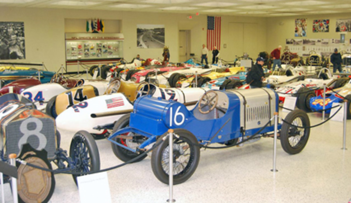 There's a story behind every racing car in the Indy Hall of Fame museum.