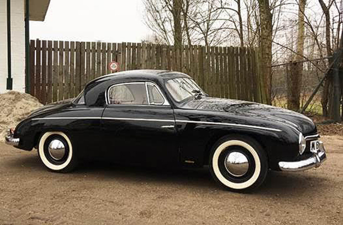 1954 Volkswagen Rometsch Beeskow Coupe photo courtesy of The Bosés Collection