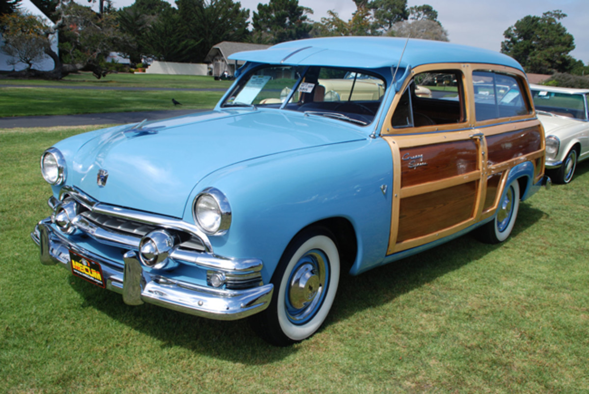 Officially sold as the Country Squire for 1951, Ford's station wagon saw a major uptick in sales this year as this model was accepted more as a family car that a commercial vehicle. (Phil Skinner Photo)