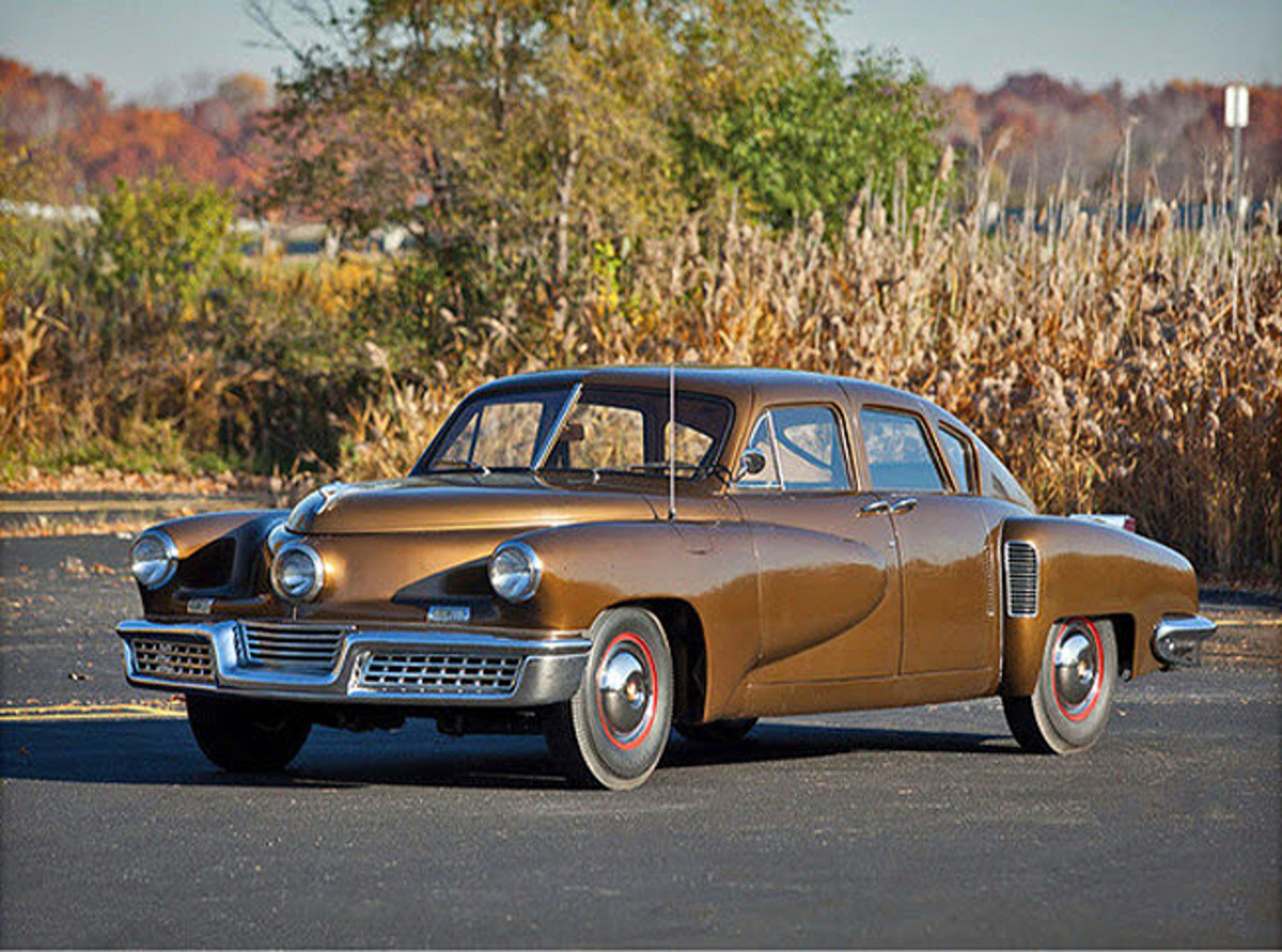 Tucker pre-restoration. Photo - Tucker AutomobileClub of America