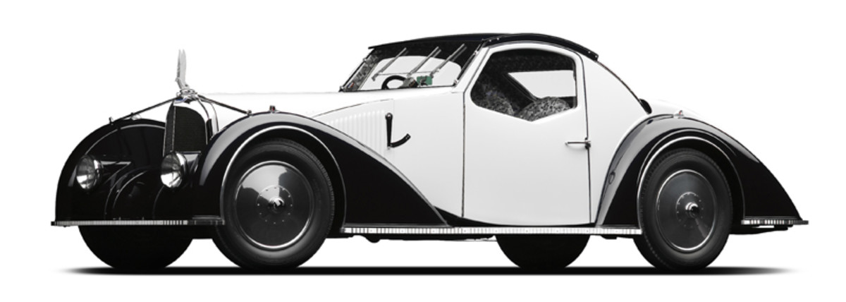 A 1934 Voisin C-27 Coupe to be part of the display.