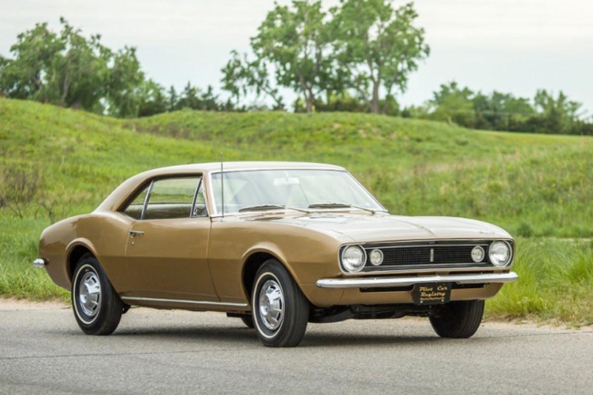 Chevrolet Camaro (PRNewsFoto/Historic Vehicle Association)