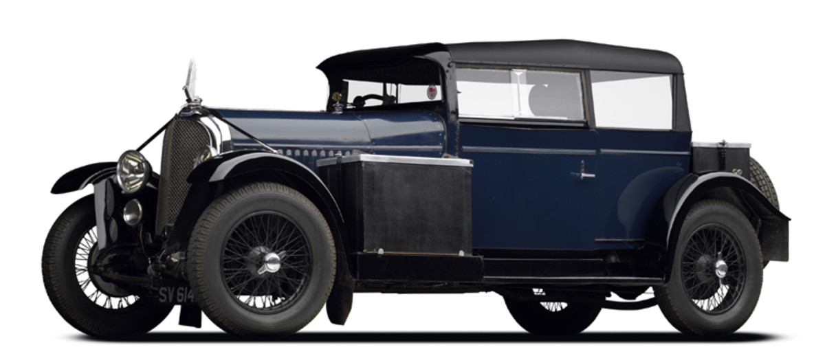 A 1928 Voisin Lumineuse C-11 to be displayed