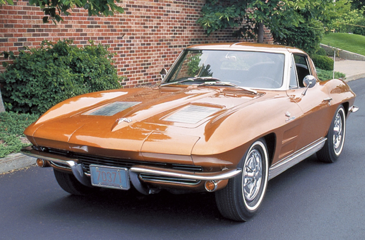 "Driver-quality Corvette ""split windows"" are currently valued around $50,000 with the 340-hp 327 V-8."