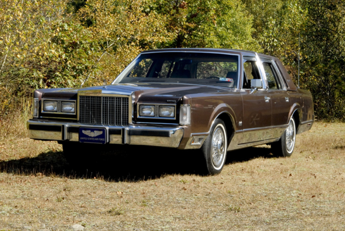 Seen from the front, the Delray Edition looks just like any other Lincoln Town Car unless an extremely sharp eye can pick out the slight differences at rear.