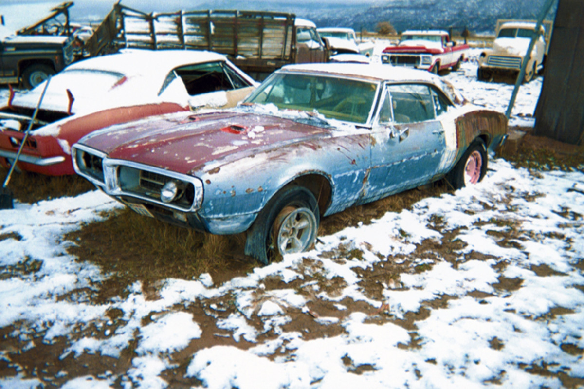 Introductory-year models are popular among car collectors, and this first-generation 1967 Pontiac Firebird hardtop is in demand within that newbie category. Rich in patina, this Firebird is very solid.