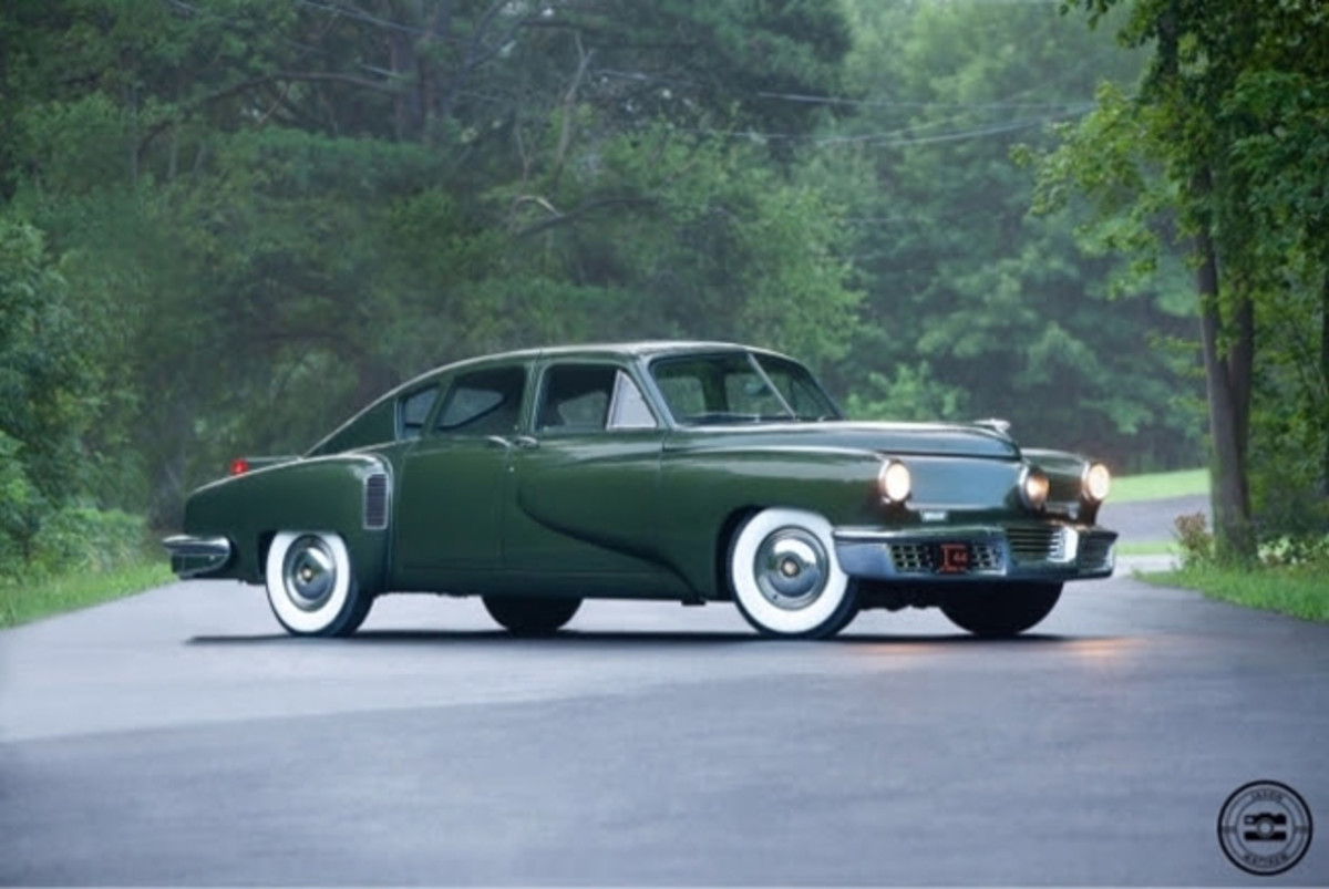 Tucker post-restoration. Photo - Tucker AutomobileClub of America