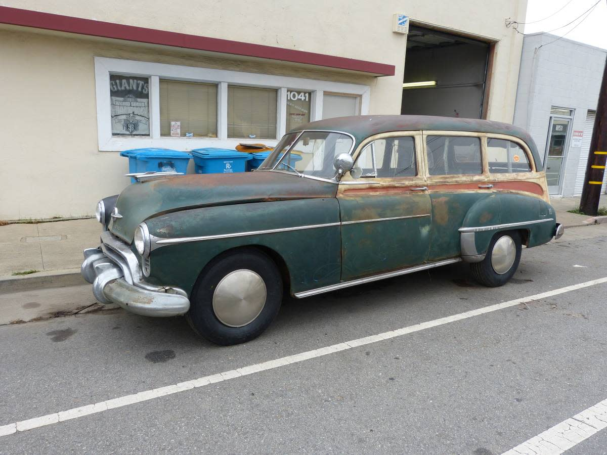We D Buy That 1950 Oldsmobile Station Wagon Old Cars Weekly