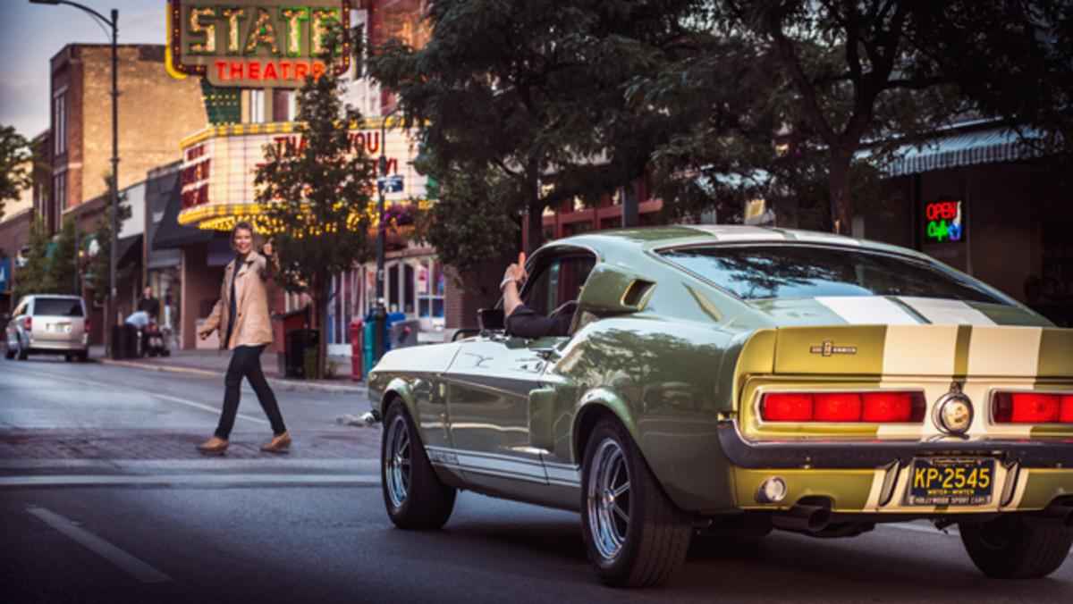 1965 Ford Mustang Coupe and 1967 Ford Mustang Shelby GT500 - The Ford Mustang, along with the Chevrolet Camaro and several other American cars from the 1960s and early 70s is attractive to people of all ages. Photo - Hagerty