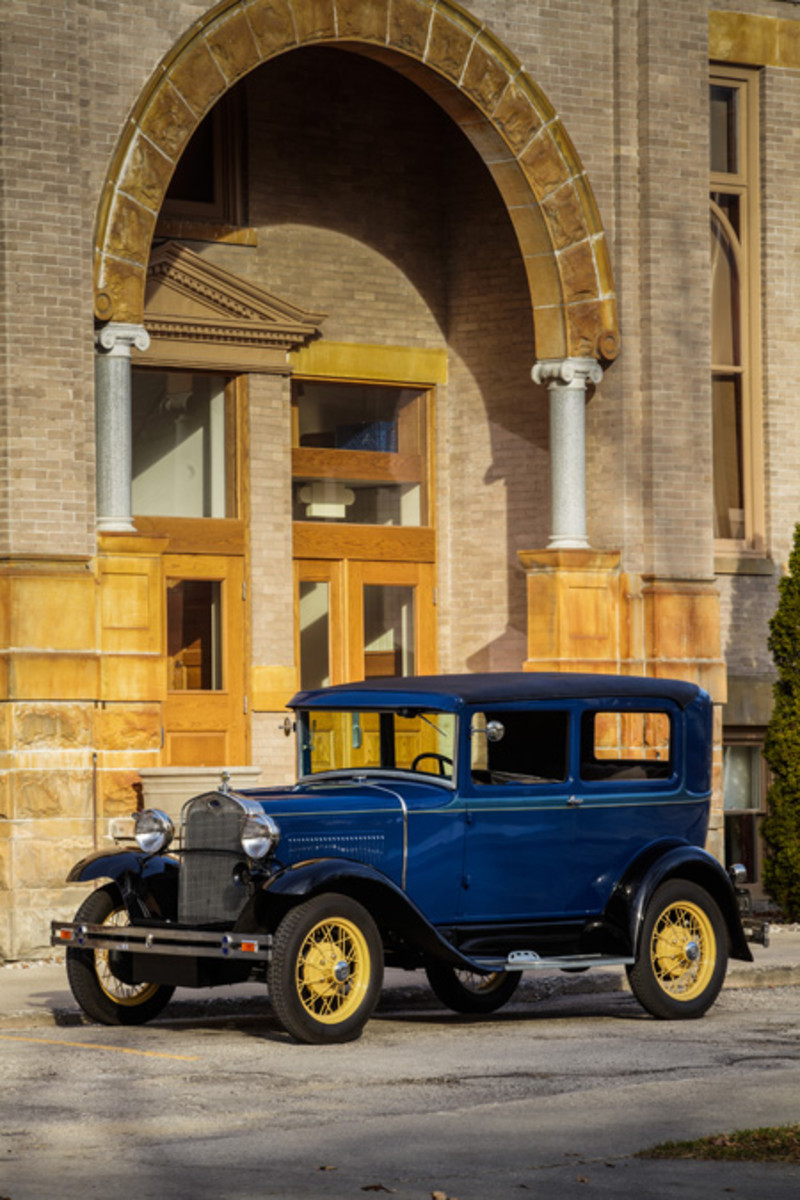 1930 Ford Model A Tudor Sedan - This is the most popular vehicle for the pre-Baby Boomer generations but 38th amongst millennial car enthusiasts. Photo - Hagerty