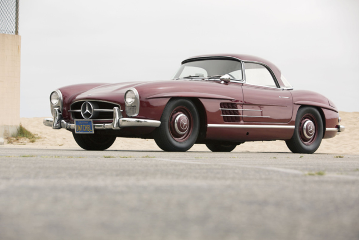 1957 Mercedes-Benz 300SL Roadster. Lot No. 521. Photo Credit: Courtesy of Auctions America