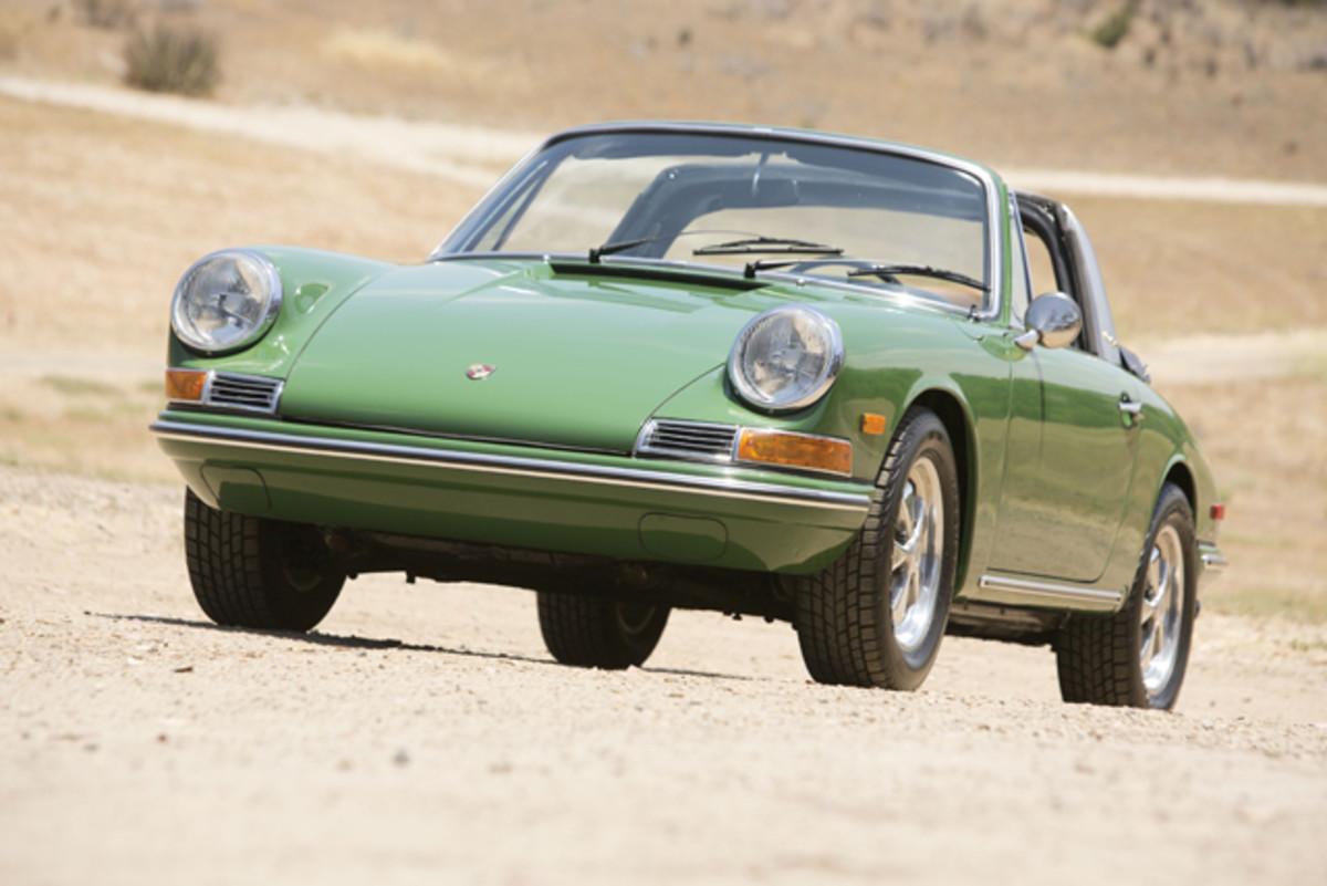 1968 Porsche 911 Soft Window Targa. Lot No. 810. Photo Credit: Courtesy of Auctions America