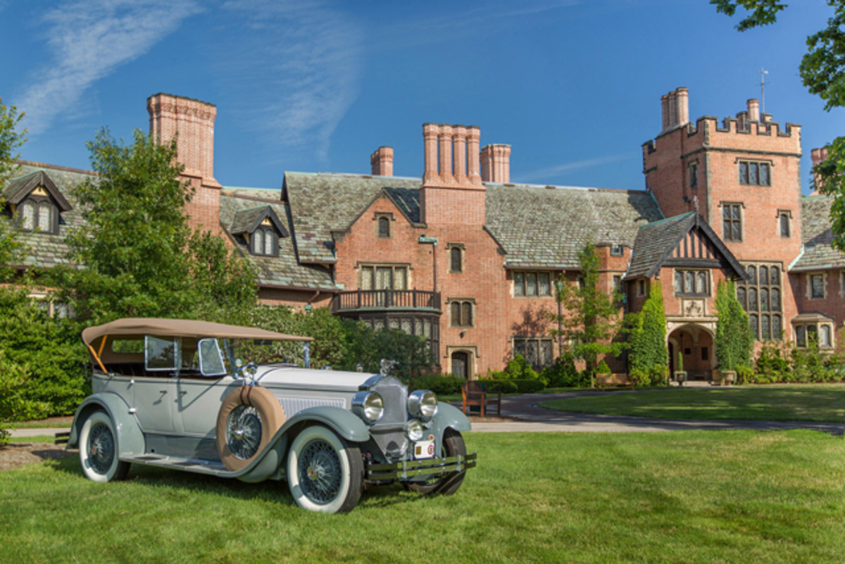 Stan Hywet_Concours d'Elegance 2014