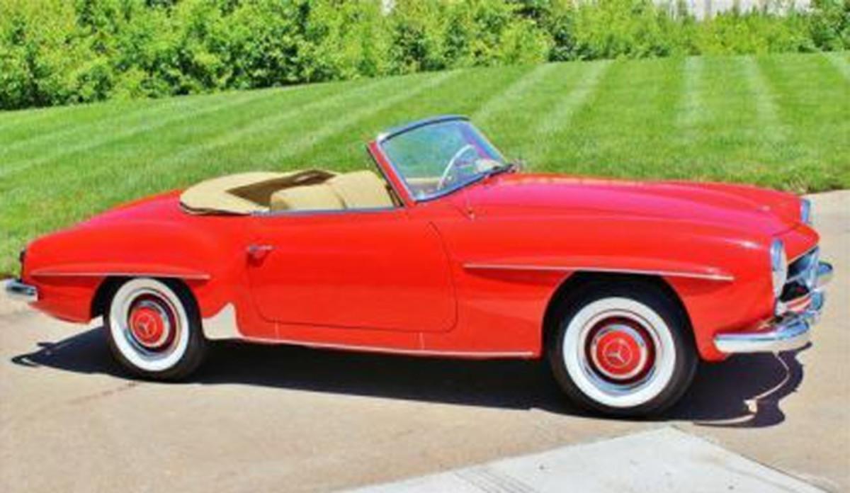 1958 Mercedes 190 copy