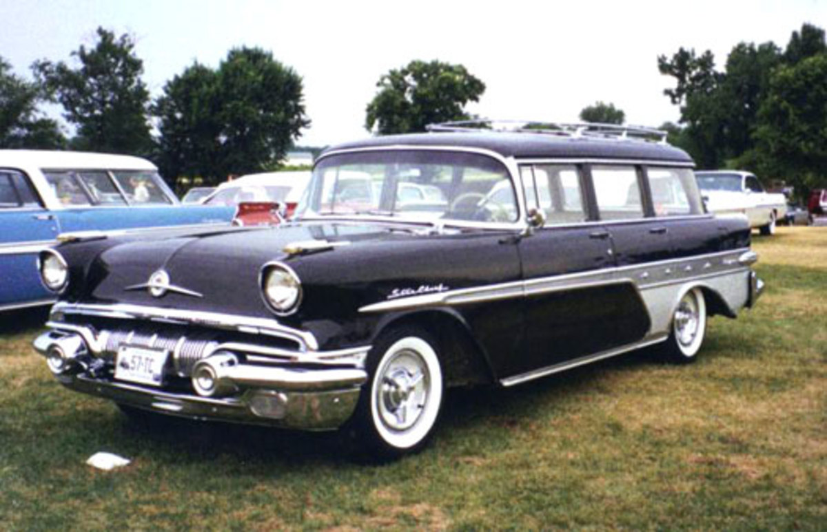 The 1957 Pontiac Custom Star Chief Safari Transcontinental station wagon has a long name and an equally long list of people who would love to see one show up at the 2014 Iola Old Car Show.