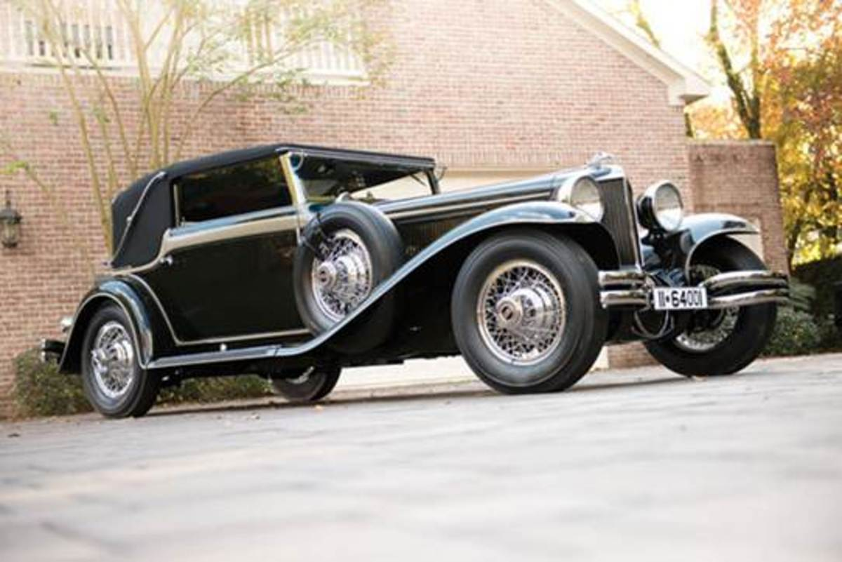 Cord L-29 with Sport Cabriolet coachwork by Voll & Ruhrbeck.