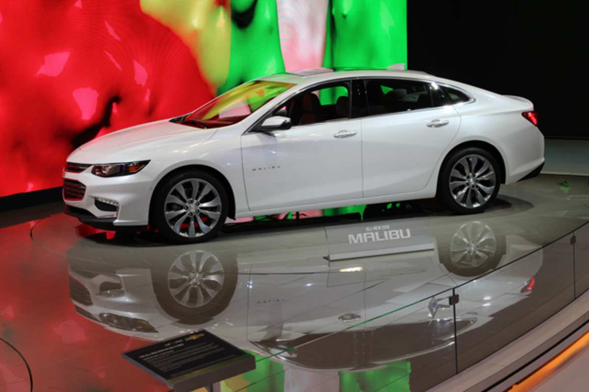 "The most improved auto at New York's 2015 show was the 2016 Chevy Malibu, which fully addresses the current model's lack of style and rear seat space with a longer wheelbase and sleek new fastback body. ""You guys killed it,"" GM product chief Mark Reuss declared to the development team members witnessing the world debut at Javits, adding ""this is the best mid-sized car I've seen in my career coming from my company."""