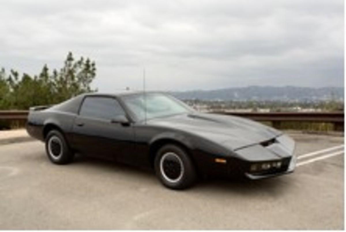 The Pontiac Trans Am KITT from Knight Rider.