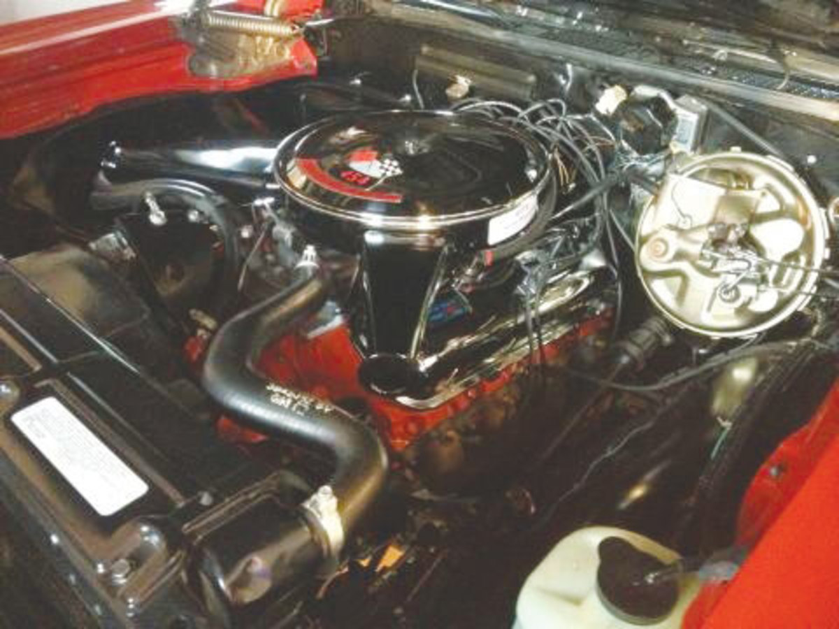 1970-Chevelle-engine