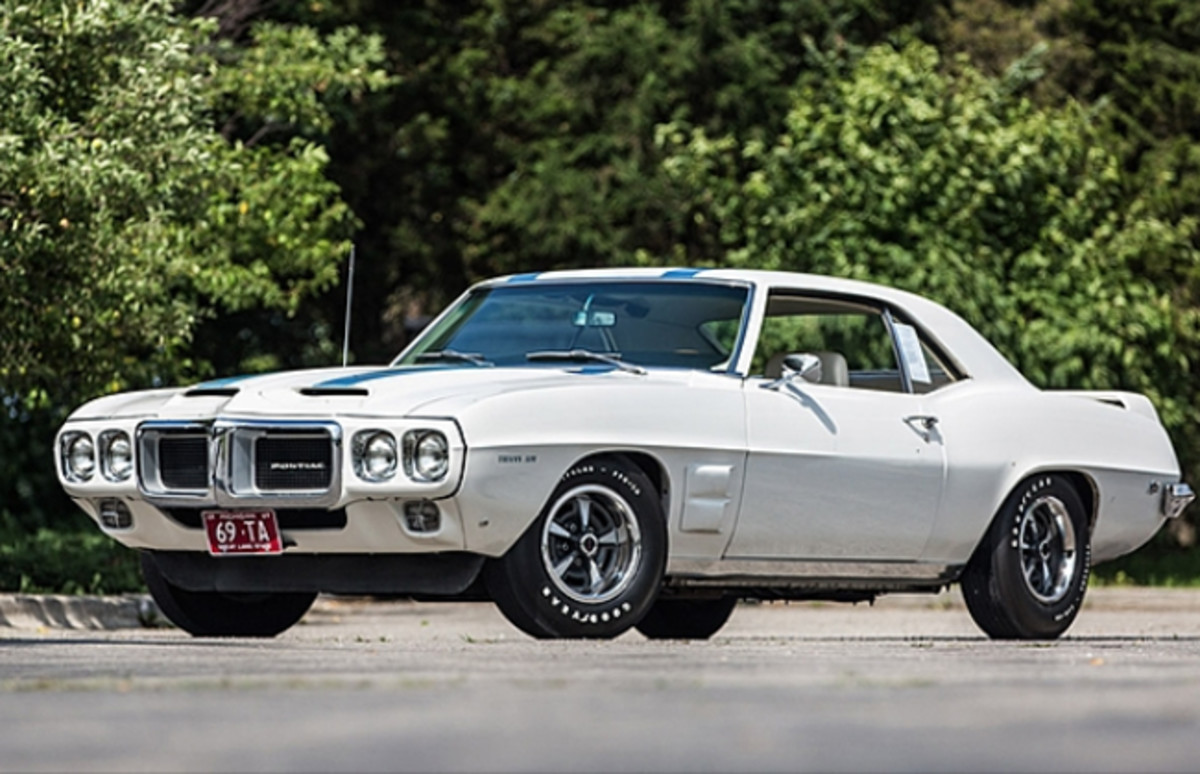 1969 Pontiac Trans Am Ram Air III (Lot S98) Photo by Jeremy Cliff, Courtesy of Mecum Auctions