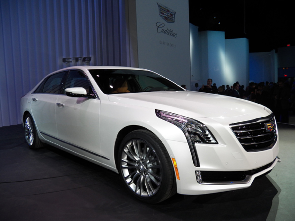 "Cadillac Brand President Johan de Nysschen hosted consecutive Brooklyn Navy Yard and Javits Center world debuts of the ""First-Ever CT6"" 100 years after the brand unveiled its first V-8 cars at the 1915 National Automobile Show in New York's Grand Central Palace. This new large sedan is equally-advanced, with a light-but-stiff body structure combining 13 different materials using cutting edge assembly techniques that have 21 patents pending."