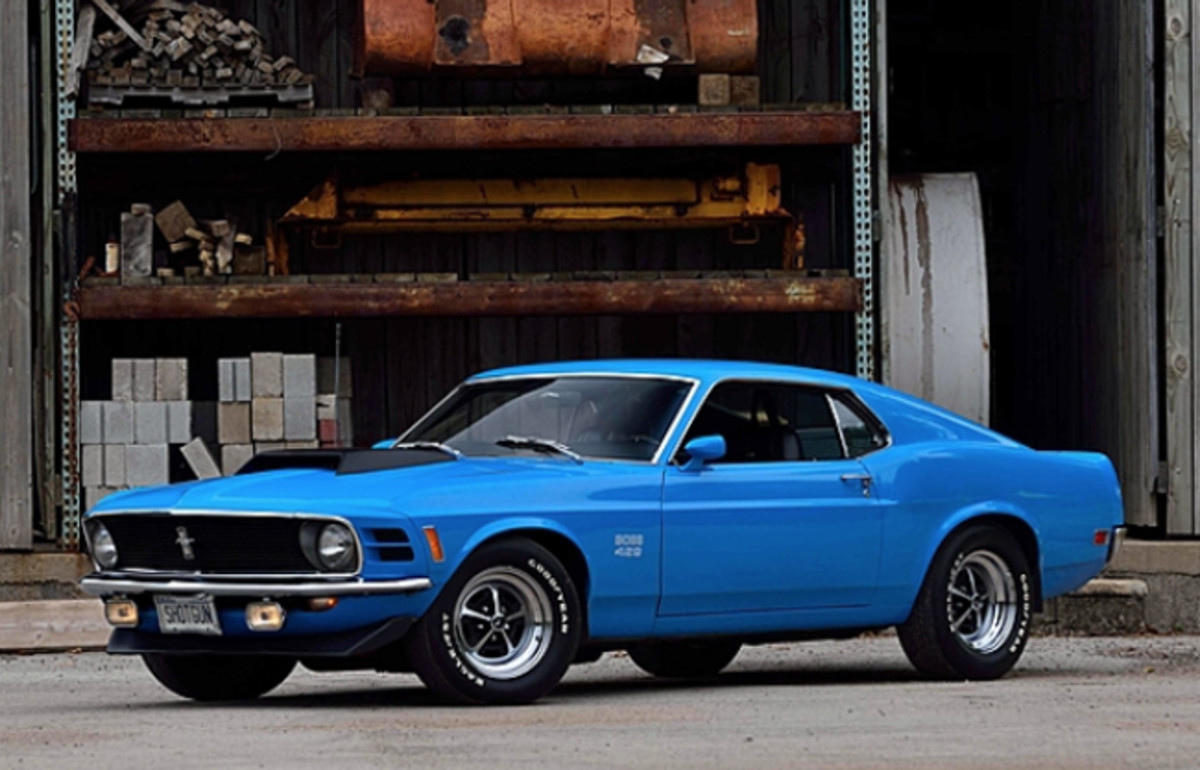 1970 Ford Mustang Boss 429 Fastback (Lot S147) Photo by David Newhardt, Courtesy of Mecum Auctions