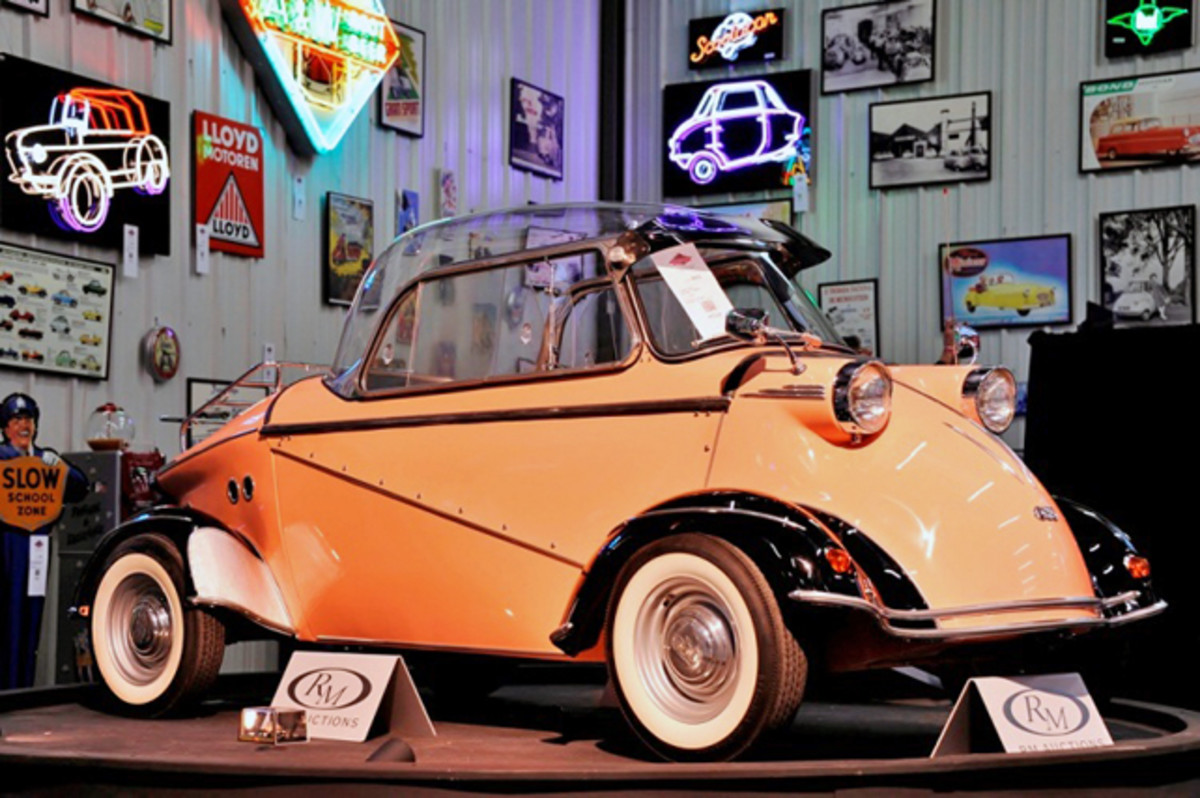 """The top-selling 1958 F.M.R. Tg 500 """"Tiger"""" (Eugene Robertson © 2013 courtesy RM Auctions)"""