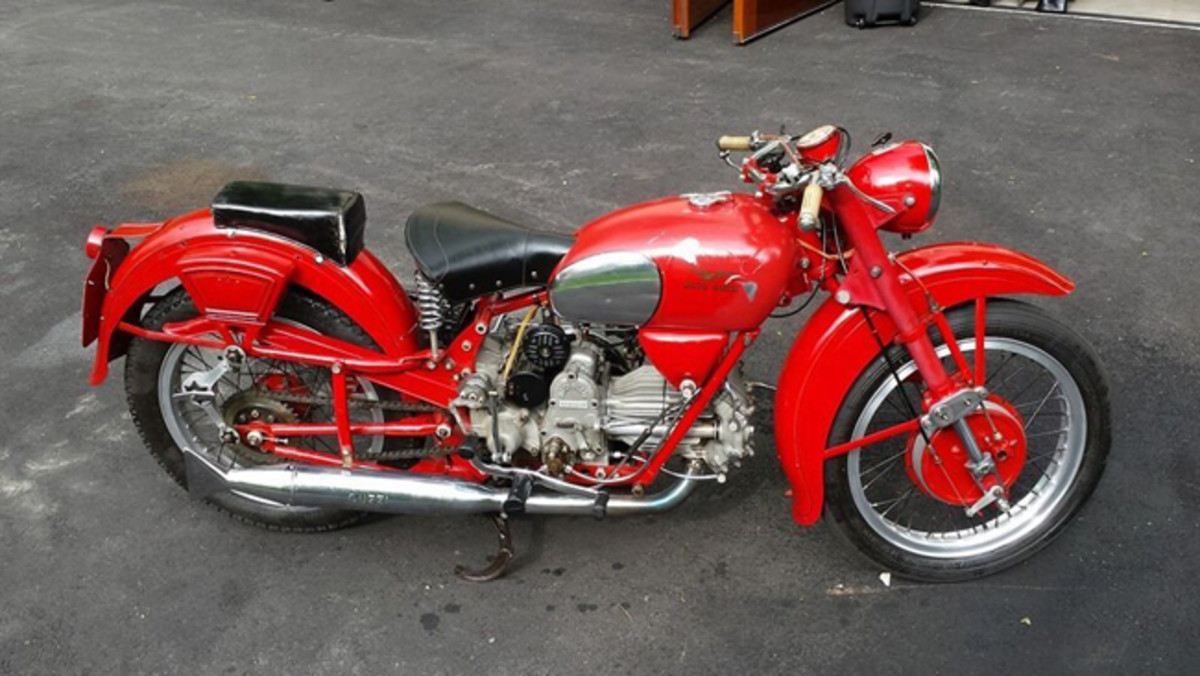 1952 Moto Guzzi Falcone Sport