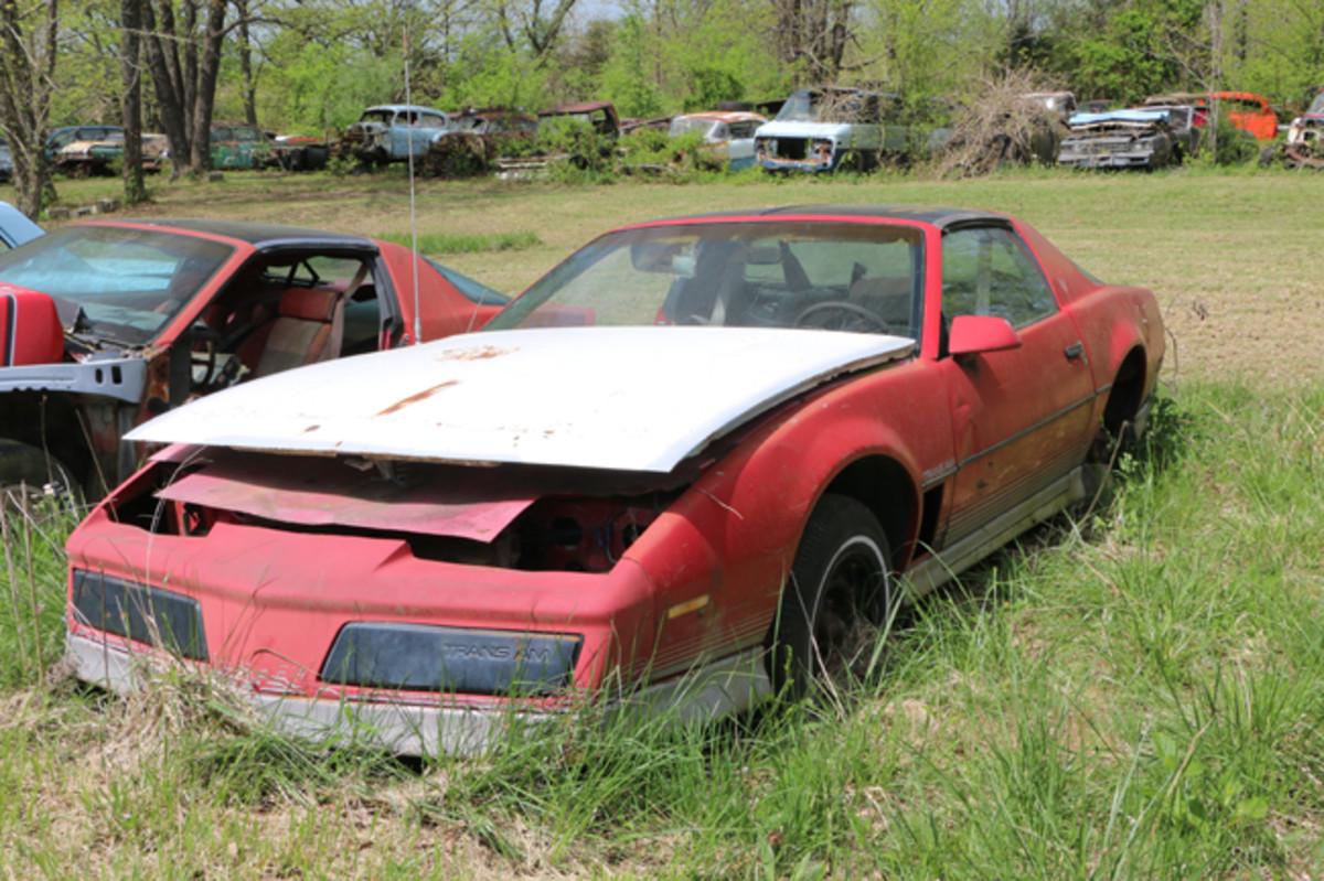A 1983 Pontiac Trans Am still has its T-Tops.