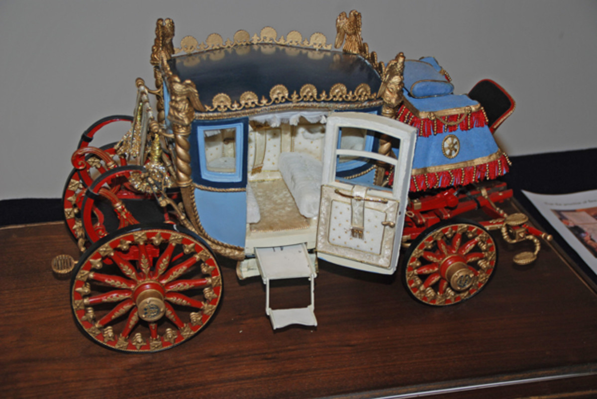 In addition to new designs the Fisher Body Craftsman Guild had a challenge to scratch built the coach used at the company logo, this beautifully preserved example was the winner from 1930!