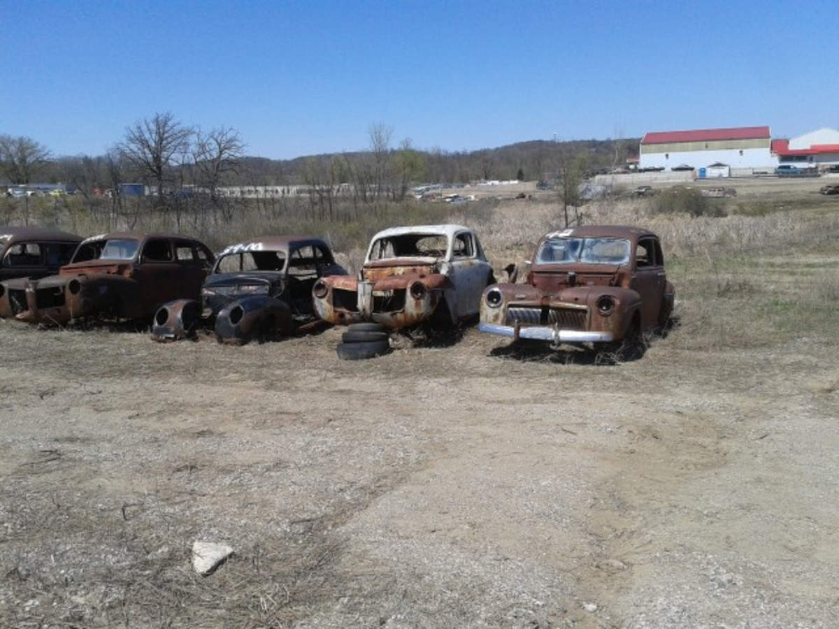 There's definitely more to FLAP than Packards and Mopars. The yard's inventory goes back to the early 1900s, and these prewar flathead Fords are testimony to that. This row offers a 1941 Mercury sedan, 1939 Mercury coupe, 1941 Mercury coupe and 1942 Ford Tudor to parts hunters.