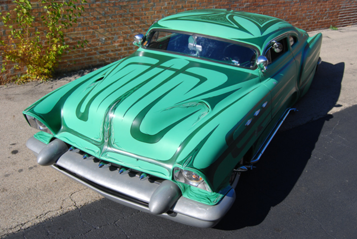 Voodoo Larry's customized '53 Chevy had Mercury and Buick influences.