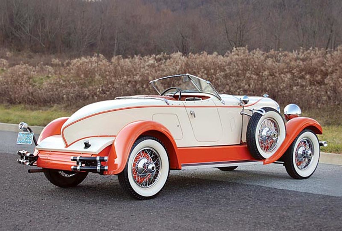 This 1929 Auburn 8-125 Boattail Speedster will be among the cars offered at Classics at the Trump Taj Mahal in Atlantic City Feb. 24-26.