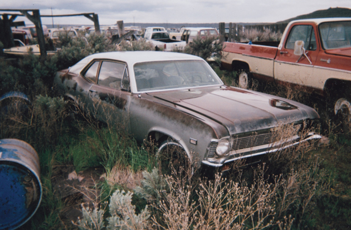 This 1971 Chevrolet Nova two-door sedan is solid all around with like-new-condition grille and bumper. Under the hood is the underappreciated 250-cid six-cylinder engine.